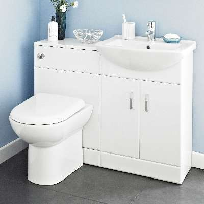 Clearance bathroom vanity units trade bathrooms for Cheap kitchen unit sets