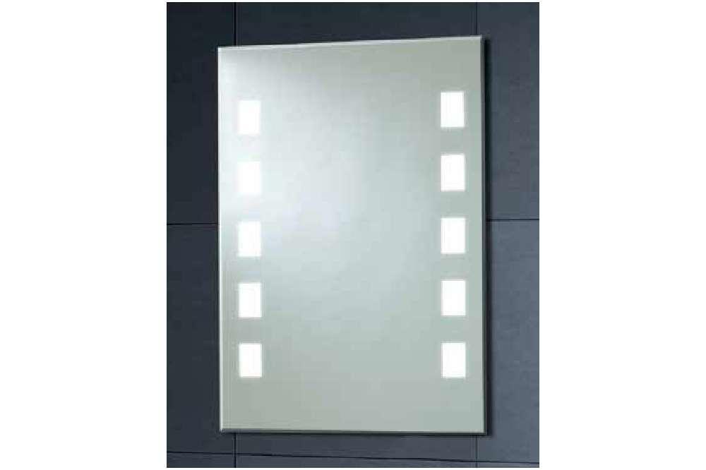 Back Lit Mirror 10 Square 70 X 50 Under