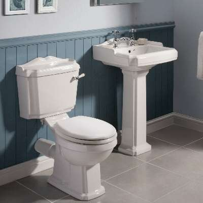 Traditional Basin & Toilet Suites