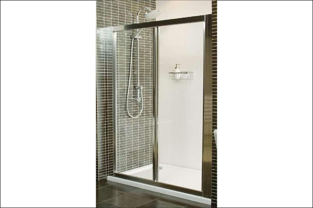 Roman Showers Inward Opening Doors Cubicles Trade Bathrooms