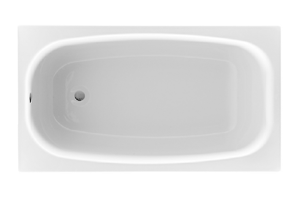 Uno 1200mm x 700mm bath renaissance bathrooms small baths for Small baths 1100