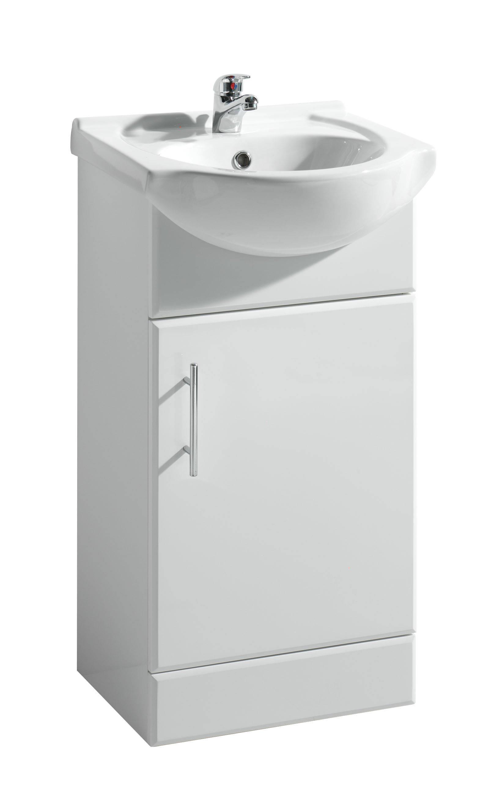 Cheap Bathroom Basins : Vanity With Basin with Wood Bathroom Wall Cabinets also Basin Bathroom ...