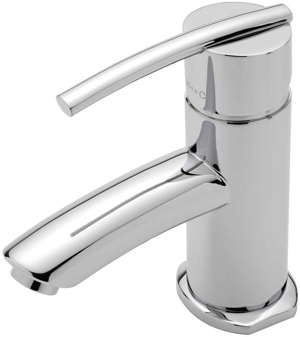 Pure Monobloc Basin Mixer With Popup Waste PU/106/C under Pure